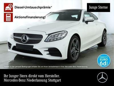 gebraucht Mercedes C200 Cp. AMG 360° Stdhzg Pano LED Keyl-GO Sitzh