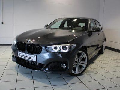 gebraucht BMW 118 d Edition M Sport Shadow Aut. Navi LED 18 M LMR Speed Limit
