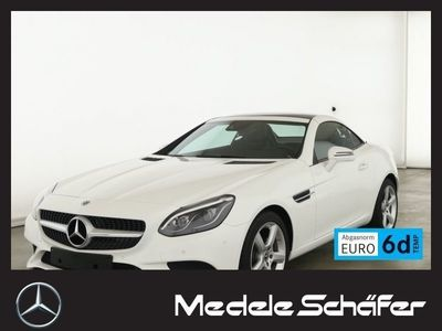 gebraucht Mercedes 180 SLCLED Park Nav Totwinkel Airscarf Sitzheiz Navi