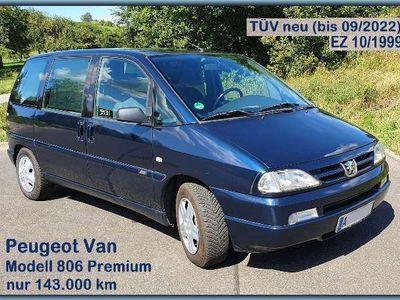 gebraucht Peugeot 806 Premium, VAN, Ahk, 7Sitze, Tüv neu