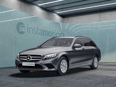 gebraucht Mercedes C180 C 180d T AHK LED Navi Kamera SHZ Einparkh. Park