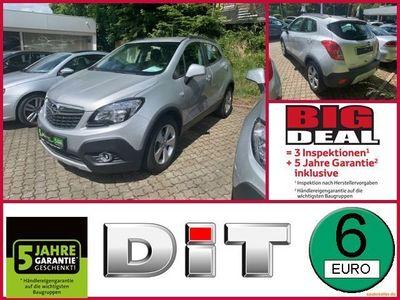 gebraucht Opel Mokka 1,4 T Edition ecoFlex Klimaanlage, BT, LM