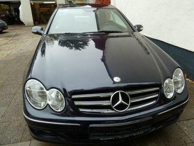 gebraucht Mercedes CLK200 K AVANTGARDE Navi PTS Standheizung