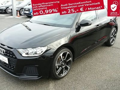 gebraucht Audi A1 Sportback Advanced 30 TFSI Optikpaket Schwarz MMI Radio DAB