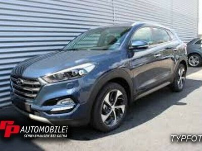 gebraucht Hyundai Tucson Style 1.6T-GDi 2WD Navi/LED/19Zoll
