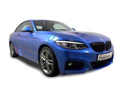 gebraucht BMW 220 d Coupé M-SPORT ADAPT LED HIFI NAVI Klima