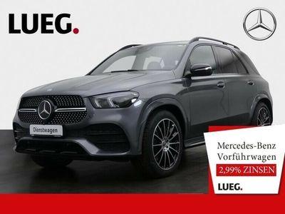 gebraucht Mercedes GLE400 d 4M AMG+7-SITZ+STDHZ+DIST+AIRM+AHK+BEAM