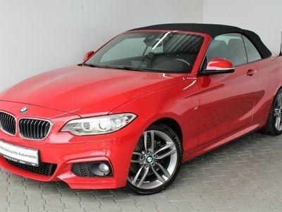 gebraucht BMW 228 i Cabrio M Sport Innovationsp. Navi Prof. PDC