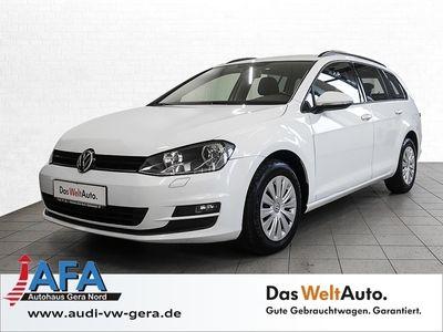 gebraucht VW Golf VII Variant 1,6 TDI Trendline Navi*Temp*SHZ*EURO6