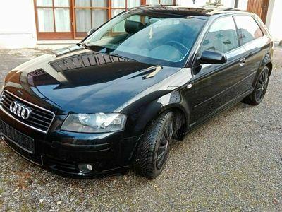 gebraucht Audi A3 2.0 TDI als Sportwagen/Coupé in Wiesenbach