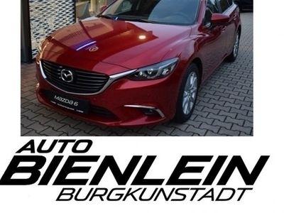 gebraucht Mazda 6 2.0 145PS Exclusive-Line Navi Voll-LED Sitzheizung uvm.
