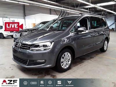 gebraucht VW Sharan 2.0 TDI Comfortline 7-Sitzer Navi Klima