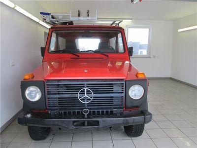 """gebraucht Mercedes G230 230 G """"1.Hd. 43.600 km"""" Feuerwehr Schweiz 36 J."""