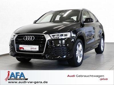 gebraucht Audi Q3 Sport 2,0 TDI quattro S Line,AHK,LED,Navi,SHZ