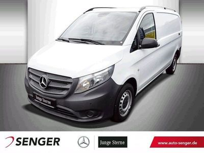 gebraucht Mercedes Vito 114 Kasten Lang, Klima, AHK, Doppelsitzbank