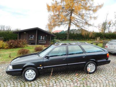 gebraucht Audi 200 Avant 20V quattro schwarz Teilleder!