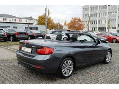 gebraucht BMW 218 dA Cabrio Advantage NAVI-B/XENON/SHZ/17-ZOLL