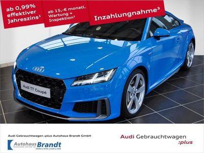 gebraucht Audi TT Coupé 45 TFSI quattro S tronic S-Line LED*NAVI