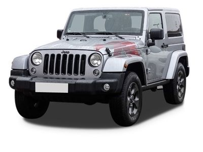 käytetty Jeep Wrangler 2.8 CRD Night Eagle Sahara DUAL TOP AUTOMATIK KLIMA NAVI LEDER