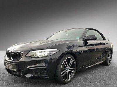 gebraucht BMW 218 i Cabrio M Sport Aerodynamikpaket/Leder/NAVI//Sitzheizung/LED/PDC/BusinessPaket