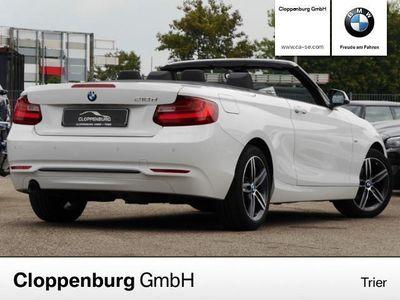 gebraucht BMW 218 d Cabrio, SPORT LINE NAVI XENON HARMAN/KARDON