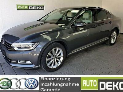 gebraucht VW Passat 2.0TDI DSG Highl Navi/Full-Led/Leder/Kame