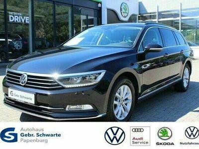 gebraucht VW Passat Variant 2.0 TDI DSG Navi LED Sitzhzg.
