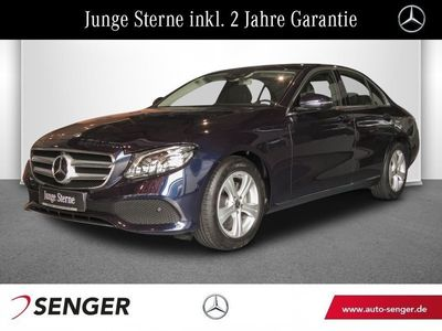 gebraucht Mercedes E220 Avantgarde Navi Multibeam Distronic 360°