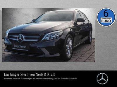 gebraucht Mercedes C200 T-Modell Avantgarde+LED+AHK+Kamera+Navi