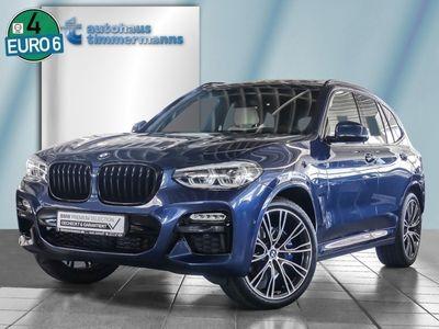 gebraucht BMW X3 M40d PANO 21''LM AHK ParkAss+ HUD DAB DrAss
