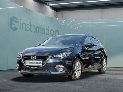 gebraucht Mazda 3 3SKYACTIV-D 150 Sports-Line Navi Xenon BOSE