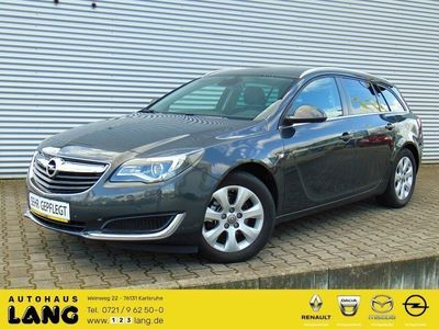 gebraucht Opel Insignia 1.4 Turbo Edition Navi Alu Temp