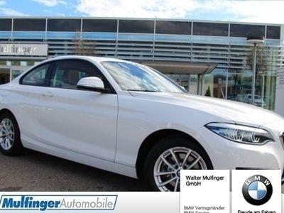 gebraucht BMW 220 i Coupe Sport Line Leder Glasd.Har/Kar.NaviPr