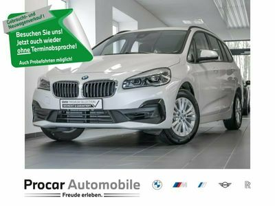 gebraucht BMW 218 i Advantage LED 3.Sitzreihe Navi Tempomat