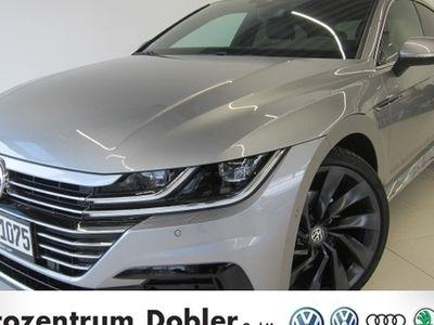 gebraucht VW Arteon R-Line 4Motion 2.0 TDI 140 kW Bluetooth LED