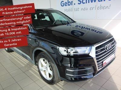gebraucht Audi Q7 50 TDI S line quattro AHK Luft Xenon Lang