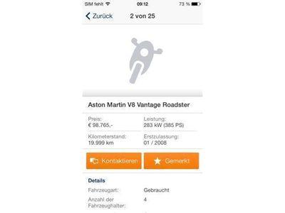 gebraucht Aston Martin Vanquish Vanquish V12V12 mit allen Extras!