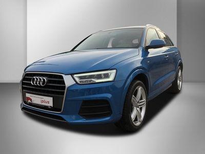 gebraucht Audi Q3 2.0 TDI quattro sport LED Navi-Plus GRA SHZ APS (X