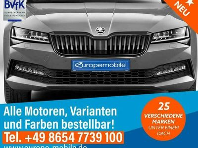 gebraucht Skoda Superb Limousine Style MATRIX Navi (D6) 2.0 TDI SCR DSG 200