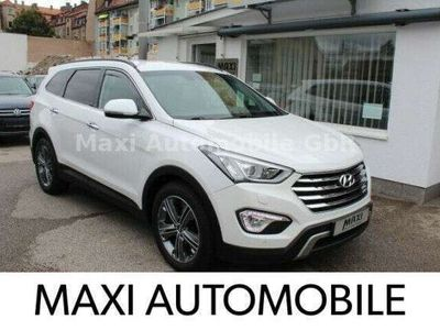 gebraucht Hyundai Grand Santa Fe Premium 4WD-7 SITZER-KAMERA-LEDER