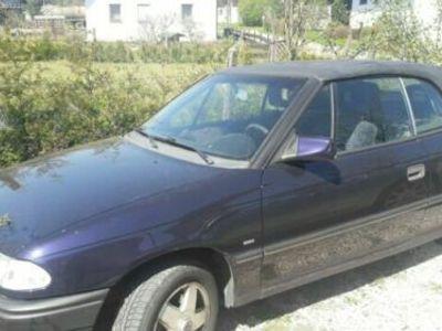 gebraucht Opel Astra Cabriolet 2.0i