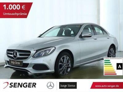 gebraucht Mercedes C220 d 4MATIC Avantgarde+LED+Navi+Schiebedach