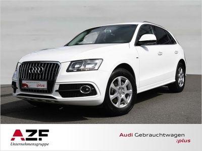 gebraucht Audi Q5 2.0 TDI S line+Navi+Sitzheizung+Kamera