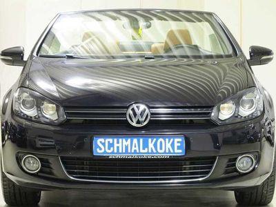 gebraucht VW Golf Cabriolet TDI2.0 BMT DSG Lounge Leder Xenon Navi