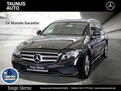 gebraucht Mercedes E220 T AVANTGARDE NAVI SHD KAMERA TOTWINKEL
