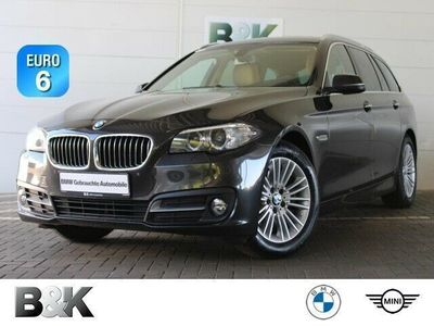 gebraucht BMW 520 d Touring AHK Navi HiFi Sitzheizung Bluetooth