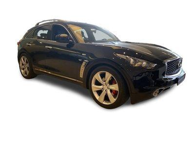 gebraucht Infiniti QX70 5.0 V8 AWD S Premium, Tieferlegung, rote Bremss.