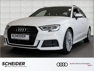gebraucht Audi A3 Sportback 2.0 TDI 3 x Sline Navi LED Klima LM18