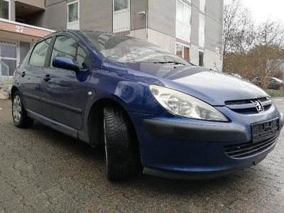 gebraucht Peugeot 307 Hdi, Klimaanlage, Navigationsystem, Euro 4