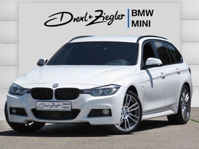 gebraucht BMW 320 d Touring M Sport Shadow Leder Navi AHK HiFi